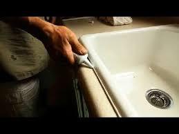 How To Caulk A Kitchen Sink Simplist Way On How To Re Caulk Your Kitchen Sink