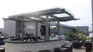 eska roof garden restaurant and bar at eska hotel batam youtube