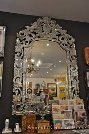 Home Goods Wall Decor by Interior Vintage Venetian Mirror For Classic Interior Decor