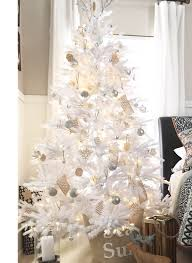 tribeca spruce white artificial tree king of