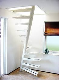 interior awesome space saving ladder design with white ladders