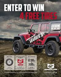 jeep girls general tire daily tire giveaways wicked rigs on display and gt