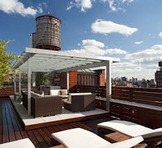 Modern Roof Terrace Designs Featuring Breathtaking Views Roof - Home terrace design