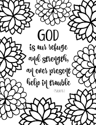 coloring pages free printable bible verse coloring pages with