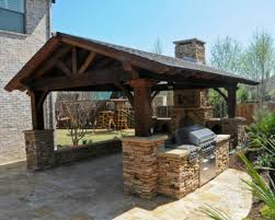 outdoor kitchen pavilion designs 15 best rustic outdoor design