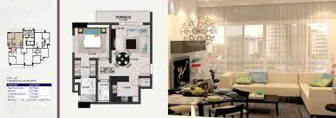 Ivory Home Floor Plans by Ivory Tower Type 4 U2013 Burooj Properties