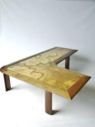 kidney shaped table for sale l shaped coffee table ideas of l shaped coffee table amazing l