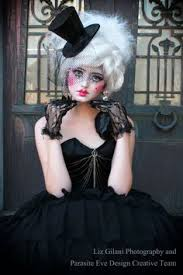 break the costume mold with these creepy cracked doll looks