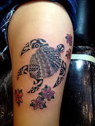 leg flower tattoos 25 incredible hawaiian tattoos