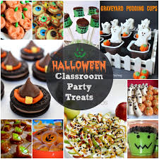 Cheap Halloween Appetizers by Easy Halloween Treats For Your Classroom Parties Or Just For Fun