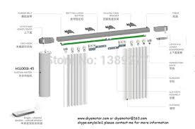 Drapery Rod Parts Electric Curtain Rod 9188