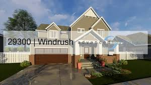 29300 windrush two story cottage style house plan by advanced