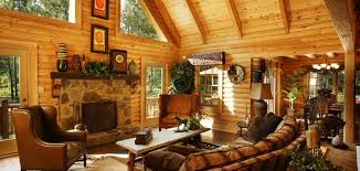 brown nuance of the cool cabin kits that has wooden floor can be