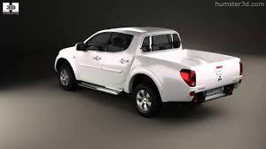 mitsubishi triton 2012 interior mitsubishi l200 triton double cab 2012 by 3d model store humster3d