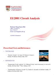 1 ee2001 circuit analysis lectures 1 6 pdf operational