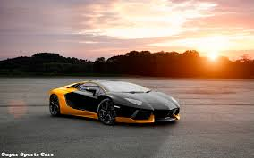 yellow lamborghini black and yellow lamborghini aventador super sports cars