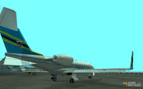 bombardier learjet 45 xr advance rp for gta san andreas