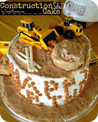 construction cake ideas how to make a construction cake for a construction party