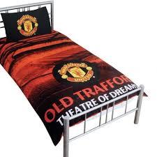 Man Utd Duvet United F C Duvet Set Sd Official Merchandise
