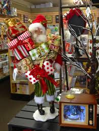 collectable santa claus home decoration memento gift shop downtown