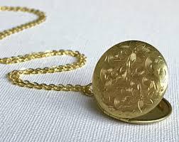 Custom Lockets Gold Locket Etsy