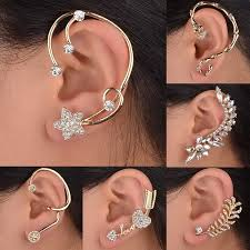 one earring new women statement vintage stud earrings
