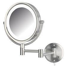 cool lighted bathroom makeup mirror bathroom light illuminated