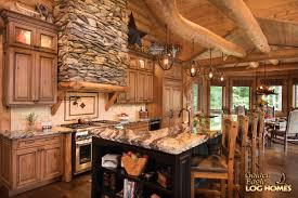 log home interiors photos log cabin kitchens ideas warm home design