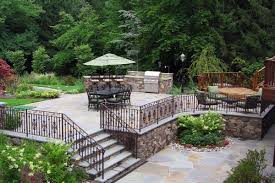 Vision Patios Natural Stone Patio U0026 Wall Design For Pools U0026 Landscaping Nj