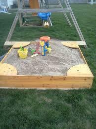 Backyard Sand Kidkraft Backyard Sandbox How Much Sand Home Outdoor Decoration