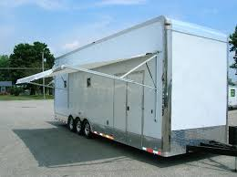 Enclosed Trailer Awning For Sale Enclosed Trailers Millennium Trailer For Sale 6051