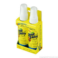 Bed Bug Sprays Buy Rest Easy Bed Bug Spray 2 Oz Twin Pack To Get Rid Of