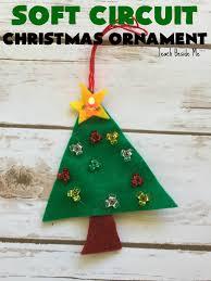 soft circuit christmas ornament christmas steam teach beside me