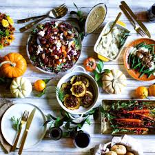 a vegan thanksgiving menu foods