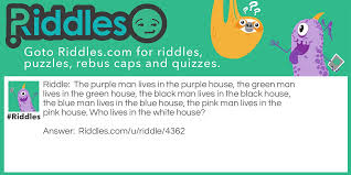 Green Man Meme - the houses riddles com