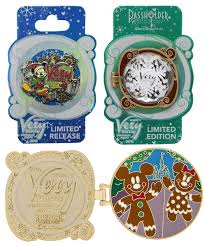 mickey u0027s merry christmas party 2016 pins revealed
