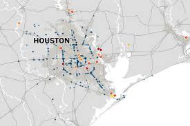 Sam Houston State University Map by Houston U0027s Polluted Superfund Sites Threaten To Contaminate