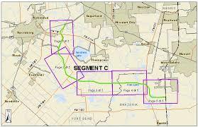 harris county toll road map segment c