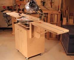ultimate miter saw stand popular woodworking magazine