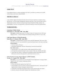 basic resume outline objective basic resume exles for objective sles objective for resume
