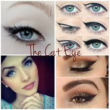 diffe types of cat eye makeup mugeek vidalondon