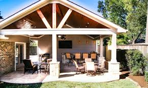 Outdoor Fireplace Houston by Gable Roofs Houston Dallas U0026 Katy Texas Custom Patios