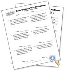 one digit divisor and quotient basic division word problems
