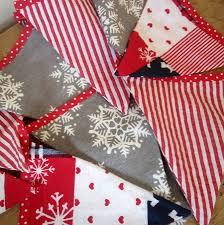 christmas scandinavian style bunting buntings christmas bunting