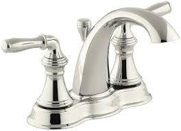 kohler bathroom faucets polished brass beautiful kohler kohler k 393 n4 sn devonshire centerset bathroom sink faucet