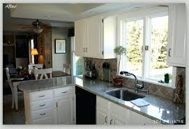 painting oak kitchen cabinets cream painting oak kitchen cabinets white before and after ideas make your