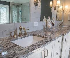 insignia cabinets bathroom transitional with subway tile