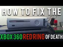 xbox 360 red light fix how to fix the xbox 360 red ring of death easy youtube