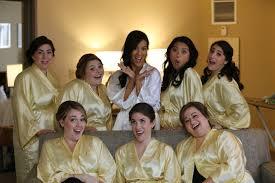 bridesmaids robes cheap bridesmaid robes gold robes yellow bridesmaid silk satin robes