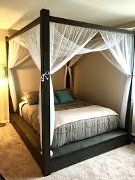 king size canopy bed plans curtains bedroom sets cheap